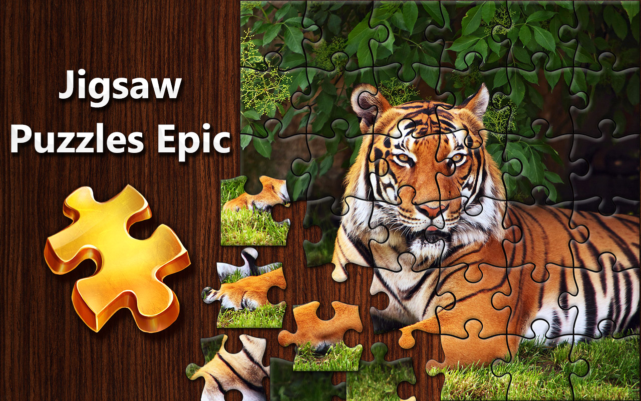 Jigsaw Puzzles Epic for iPhone, iPad, Android - Kristanix Games