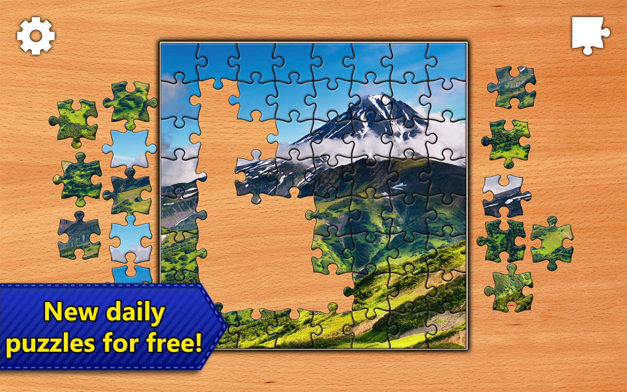 Jigsaw Puzzles Epic For IPhone IPad Android